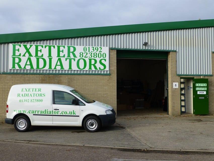 Exeter Radiators Building