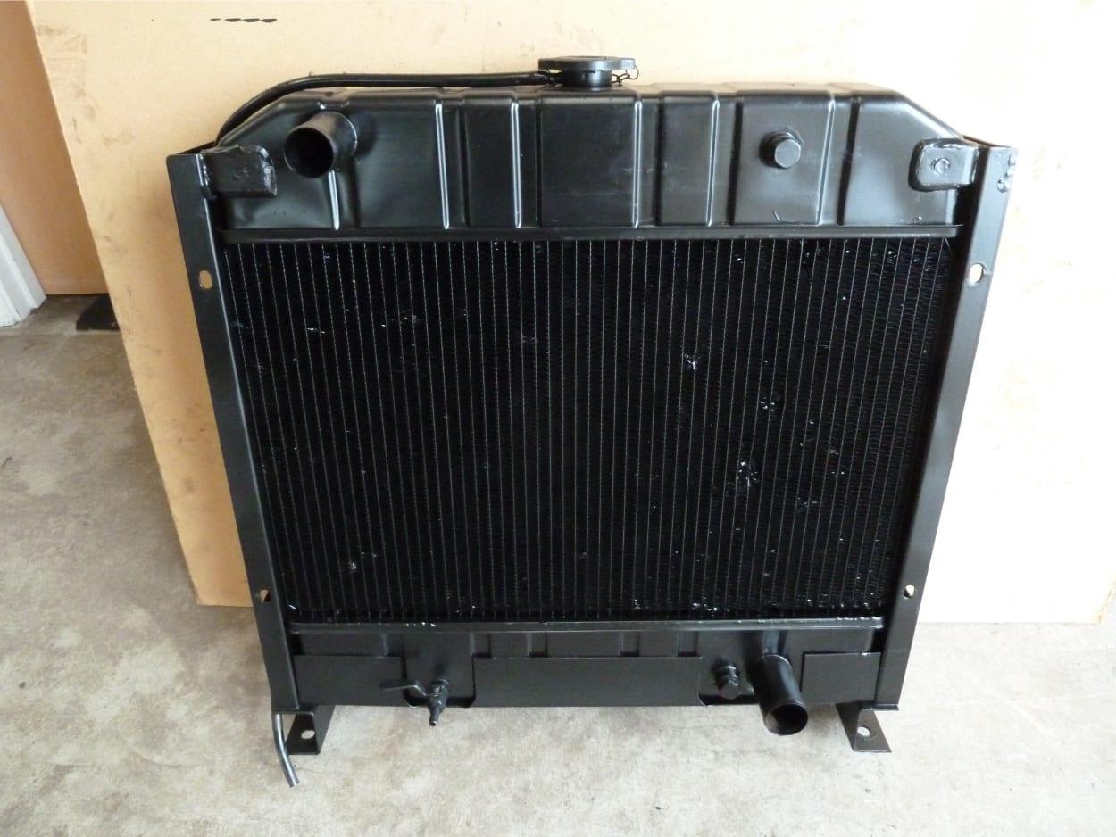 Generator Radiator Cleaned, Repaired and Tested Brixham Devon