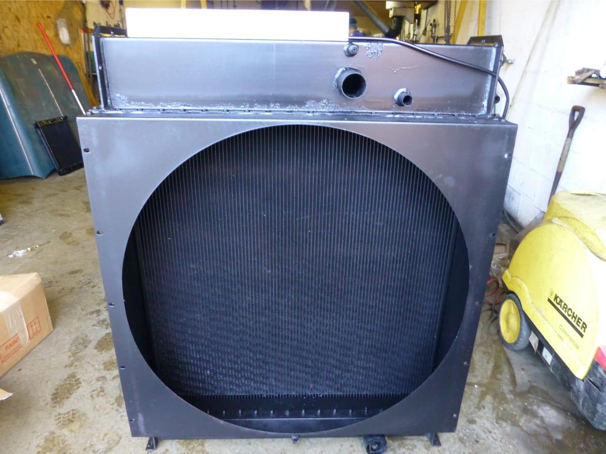 Genset Radiator Recored (3) St Austell