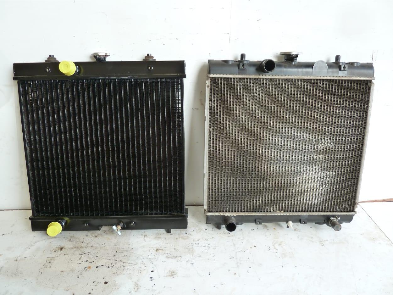 Kubota Generator Radiator New Copper and Brass Willand Devon
