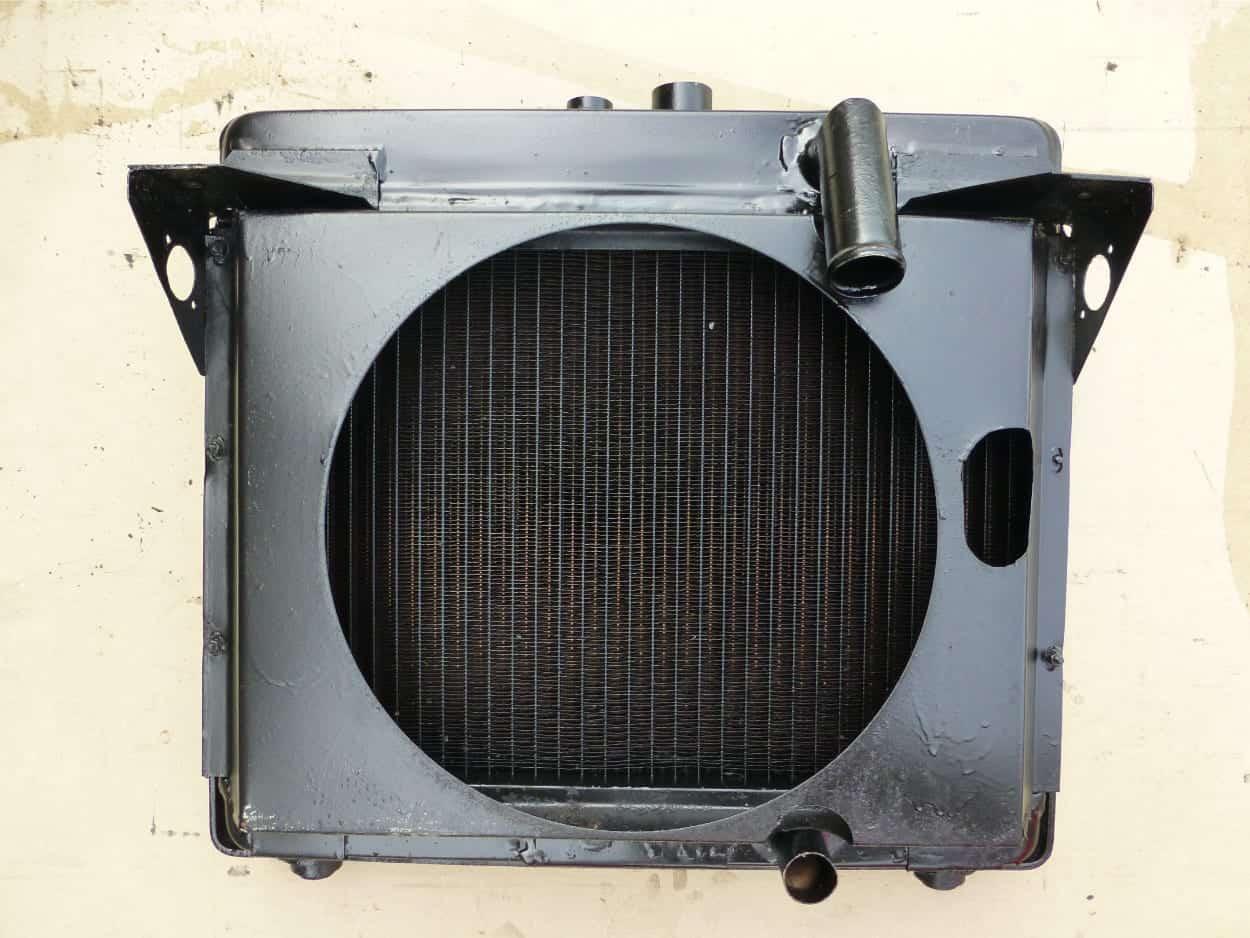 Small Genset Radiator New Core Cornwall