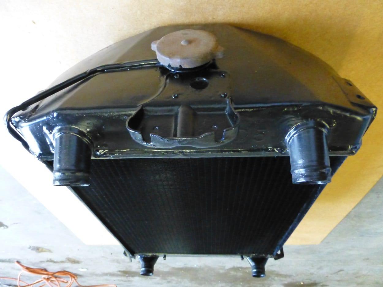 Ford Flathead V8 Radiator Upgrade New Core Cornwall