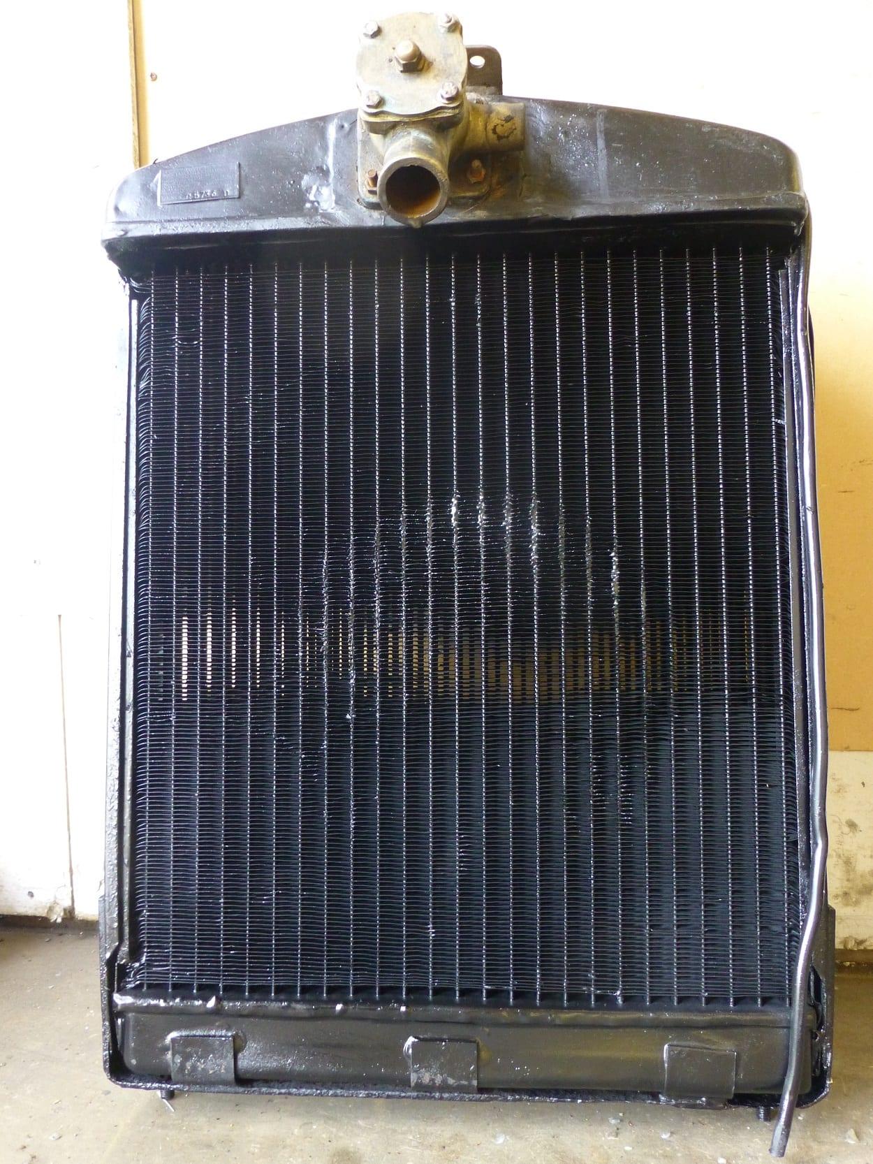 Lanchester LA11 Radiator Core Repaired Newquay Cornwall