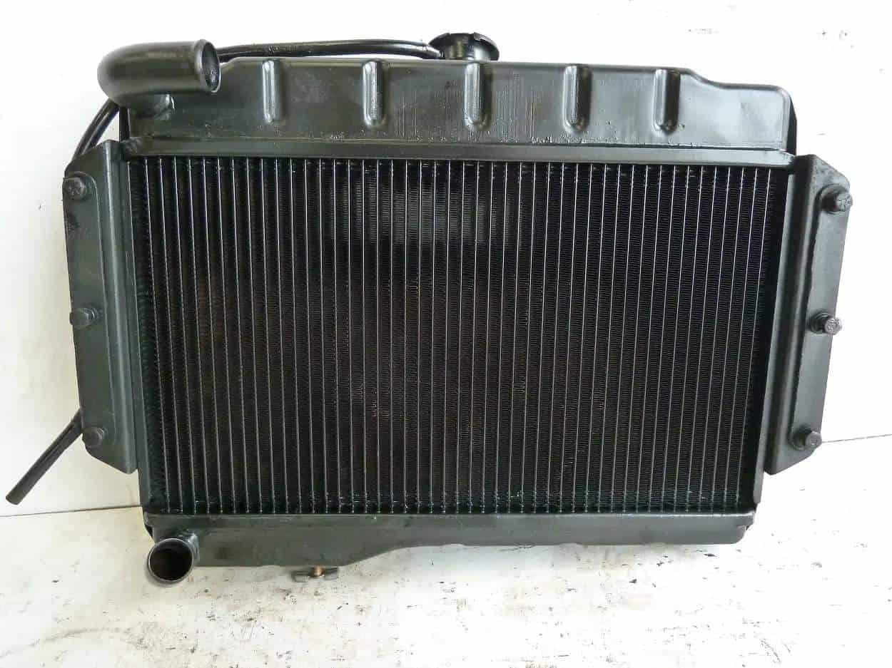 MGB Radiator New Upgraded Core Whimple Devon