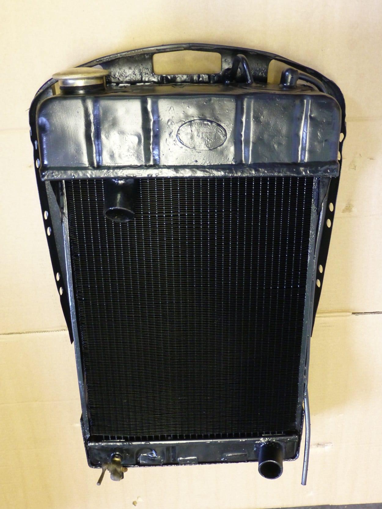 Morris 5cwt Light Weight Van Radiator New Modern Core Truro Cornwall