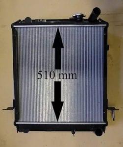Isuzu NKR 3_0 Grafter Replacement Radiator