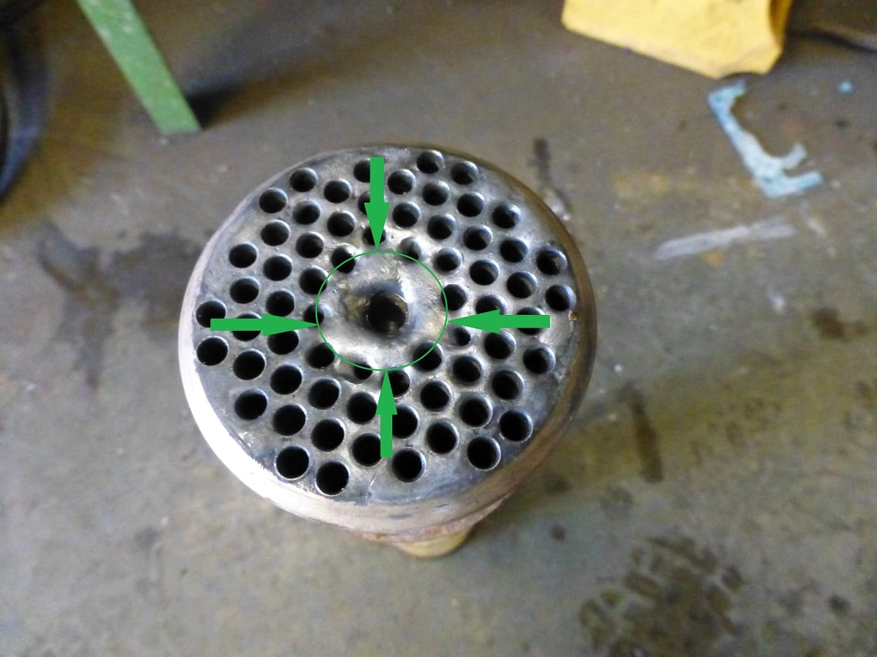 A R Peachment Boat Heat Exchanger