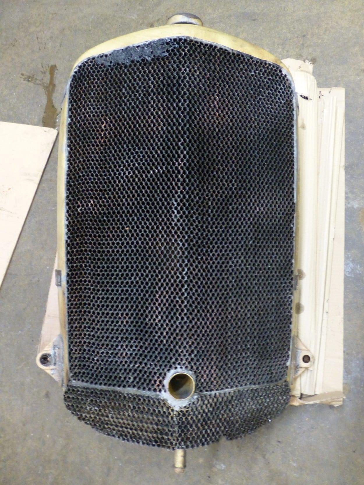 Alvis Speed 20 SB Radiator