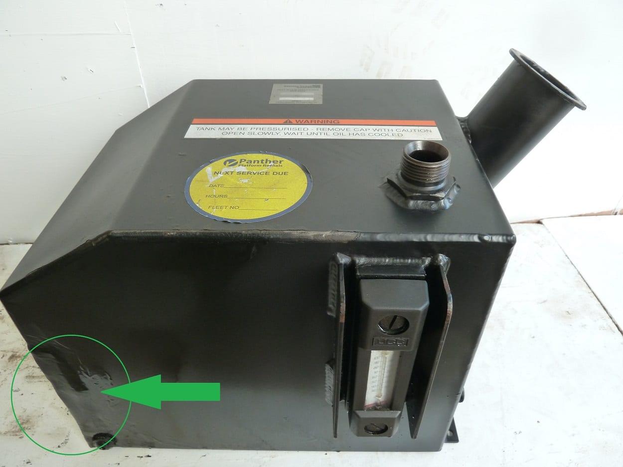 Tower Unit Hydraulic Oil Tank