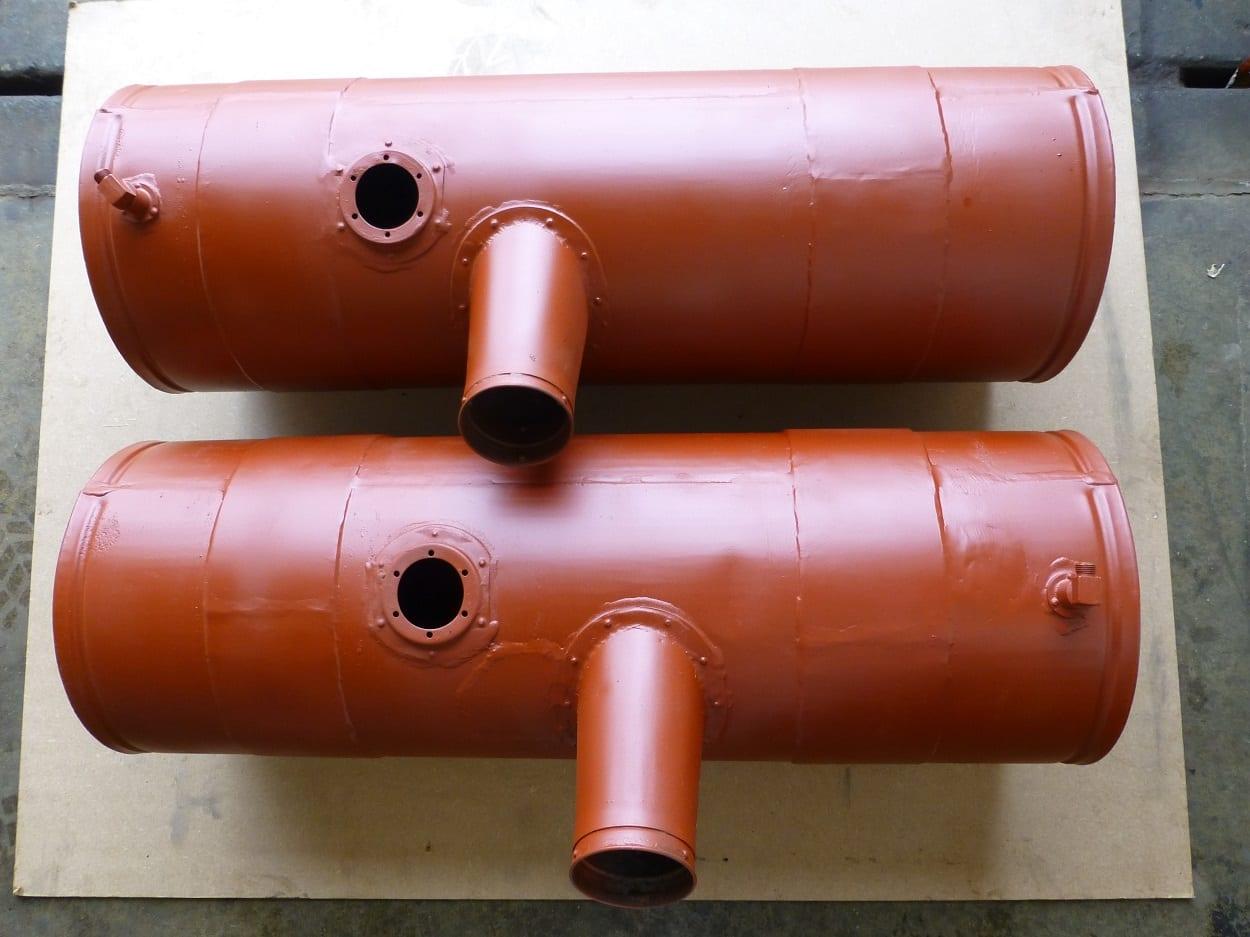 Vintage Lorry Fuel Tanks