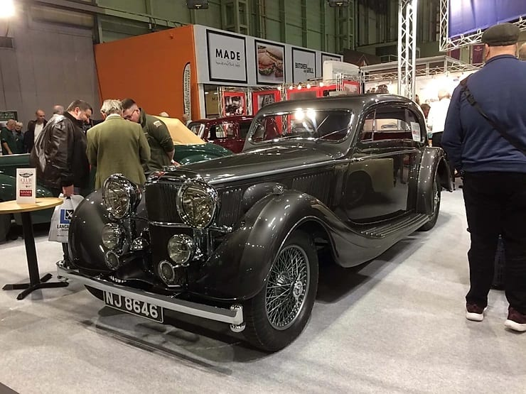 1936 Alvis 3.5 litre SA, 2 Door Airline Pillarless Saloon