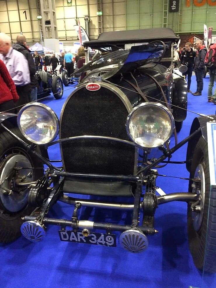 1912 Type 18 Bugatti up to a 1936 Type 57S Le Mans Bugatti