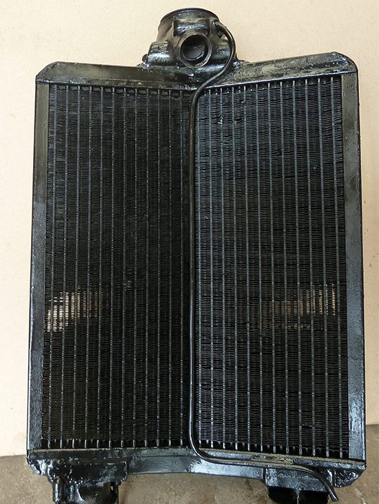Talbot Radiator Cleaned Tested and Repaired Crediton Devon