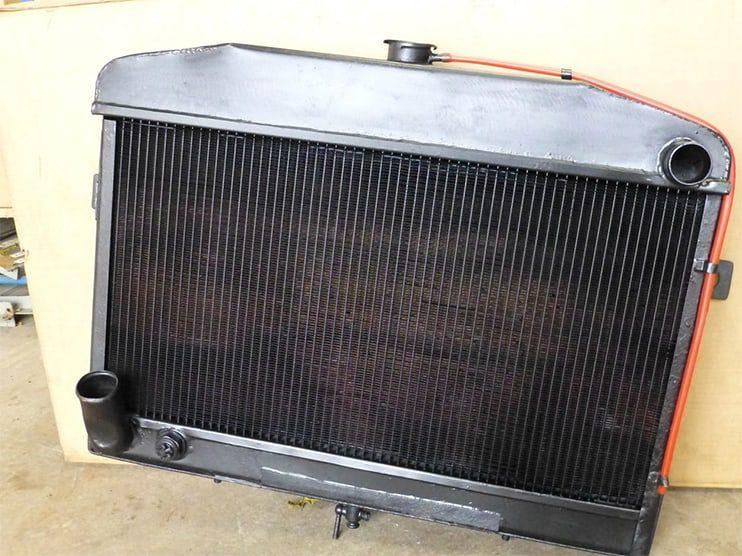 Jensen CV8 Radiator Reconditioned. Cullompton